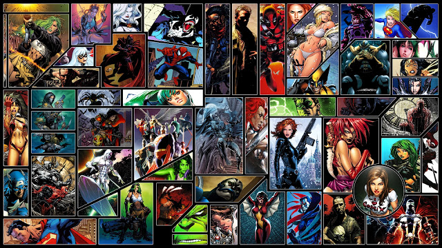 FREE WALLPAPERS   HD WALLPAPERS   DESKTOP WALLPAPERS DC comics Marvel 640x360