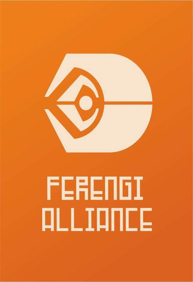 Flag of the Ferengi Alliance ST  Deep Space Nine Star trek 640x936