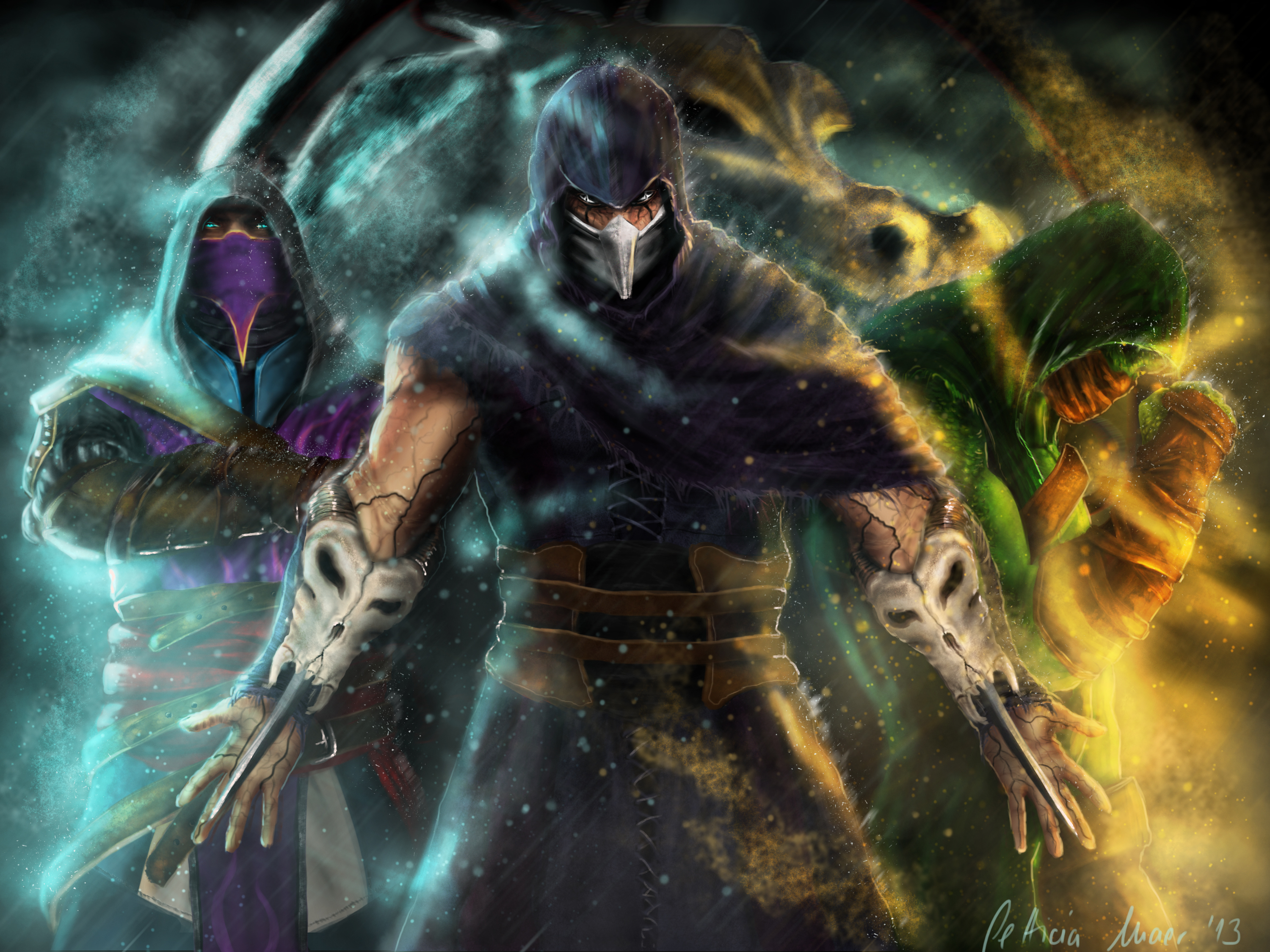 rain mortal kombat wallpaper - wallpapersafari