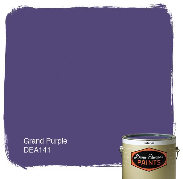 Dunn Edwards Paints Grand Purple DEA141 paint 595x582