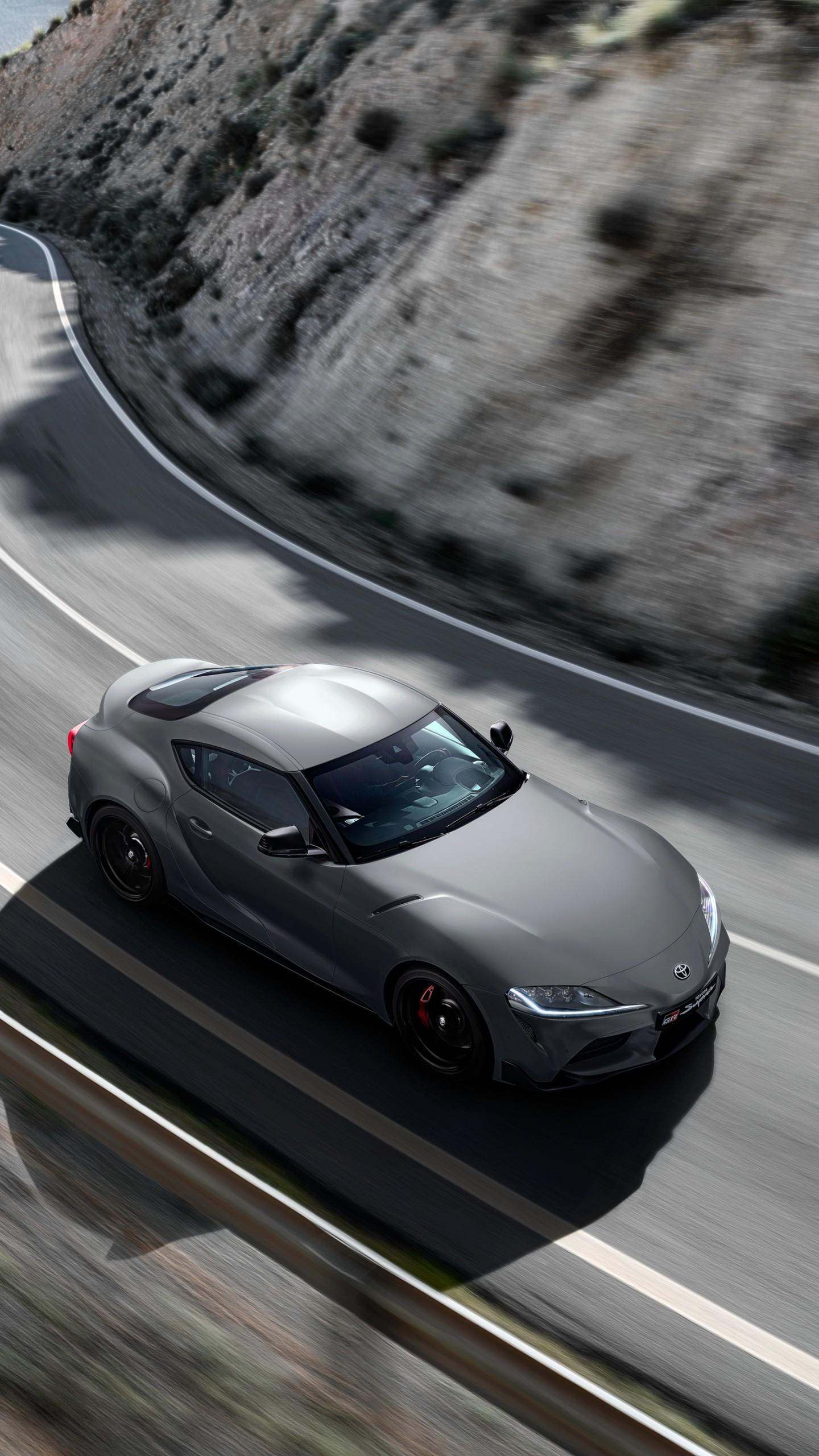 download Wallpaper Toyota Supra A90 2020 Cars 2019 Detroit 1440x2560
