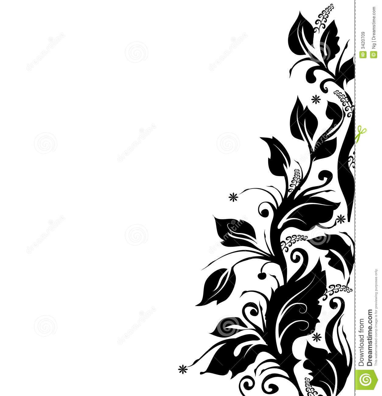 Black and white wallpaper trim wallpapersafari black and white floral border wallpapers the art mad wallpapers 1255x1300 mightylinksfo