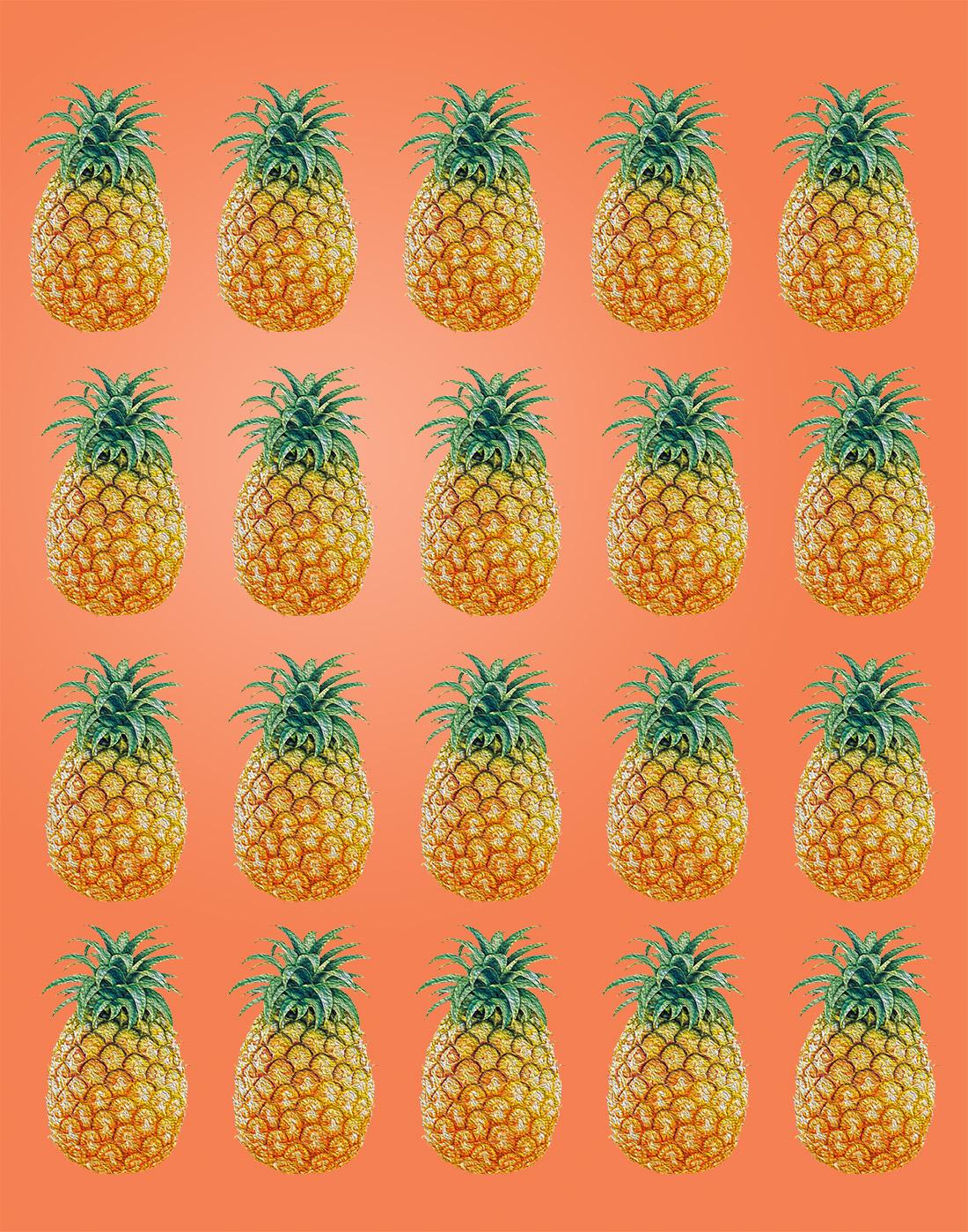 [48+] Pineapple Wallpaper Patterns on WallpaperSafari