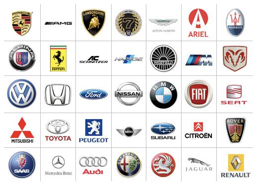 Manufacturers Logos Car 520x375