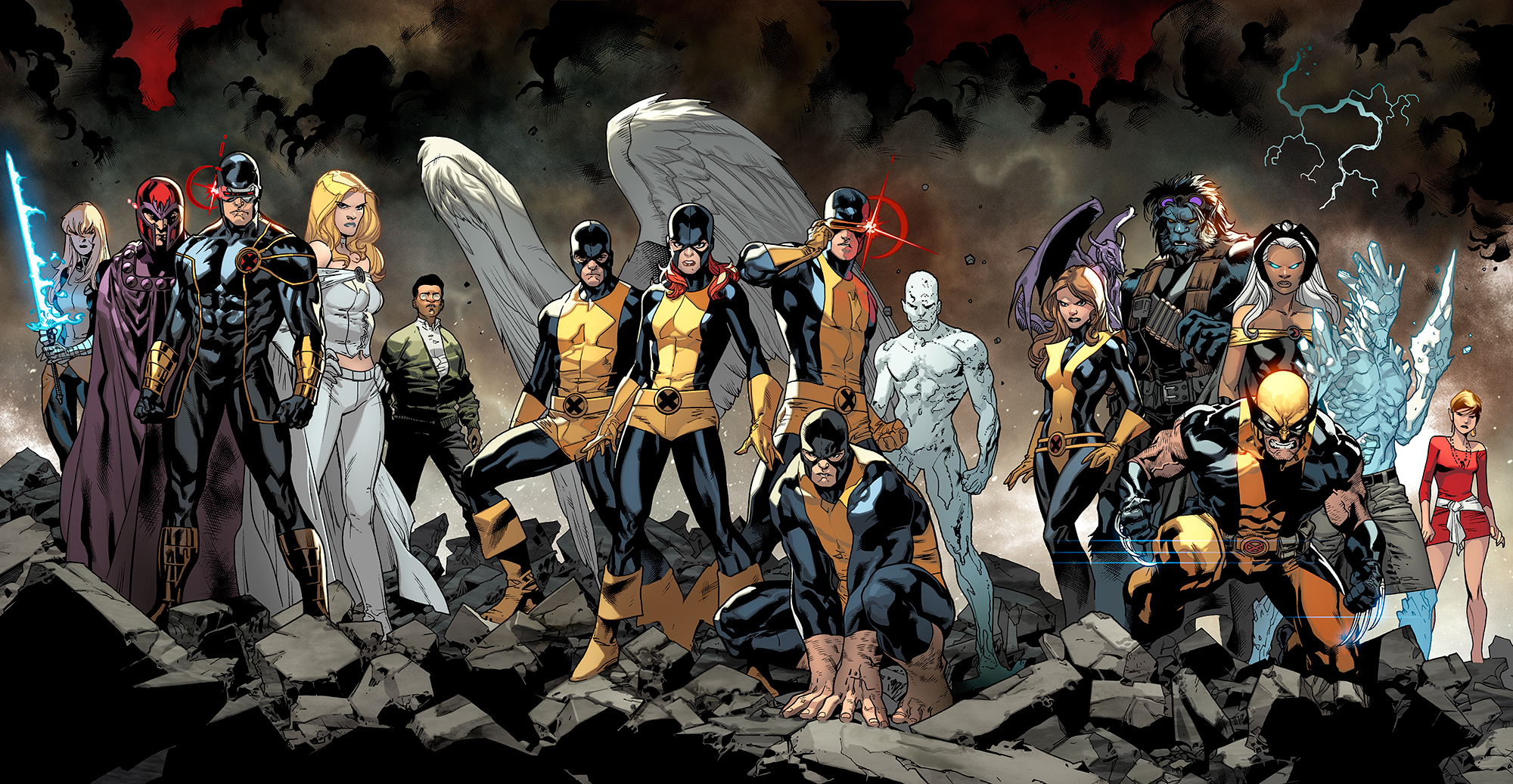 Free Download Hd X Men Backgrounds 2000x1037 For Your