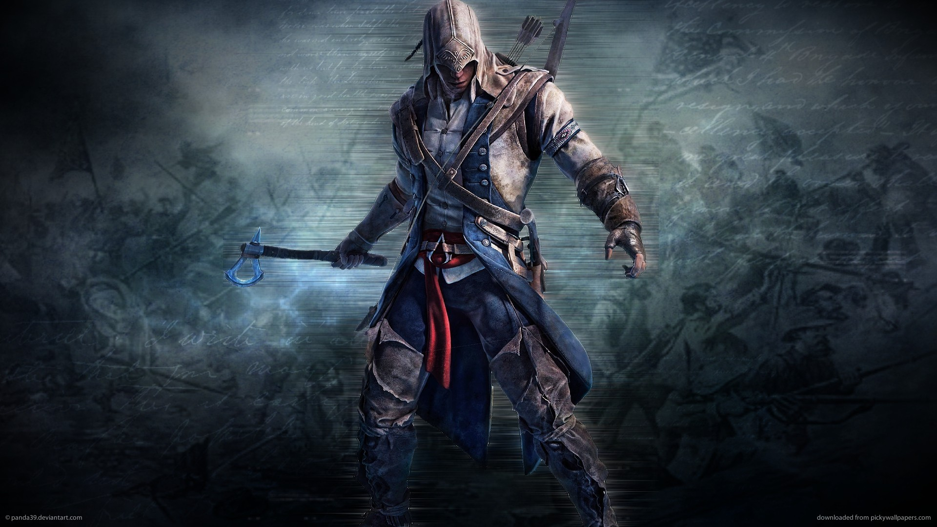 Download 1920x1080 Assassins Creed 3 Tomahawk Wallpaper 1920x1080