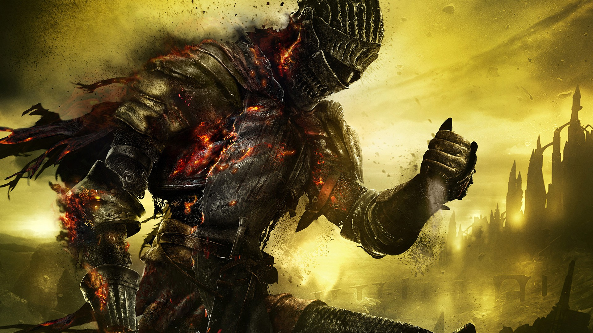 Wallpaper Dark Souls 3 01 sur PS4 Xbox One WiiU PS3 PS Vita 3DS 1920x1080