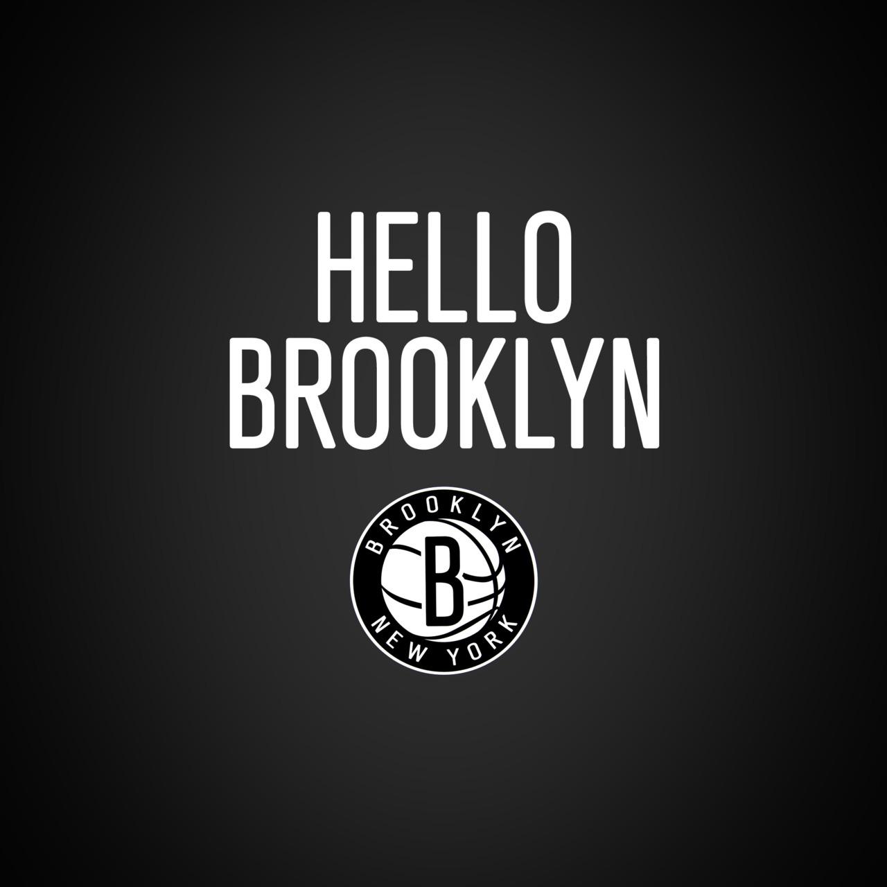 brooklyn nets logo wallpaper 1280x1280