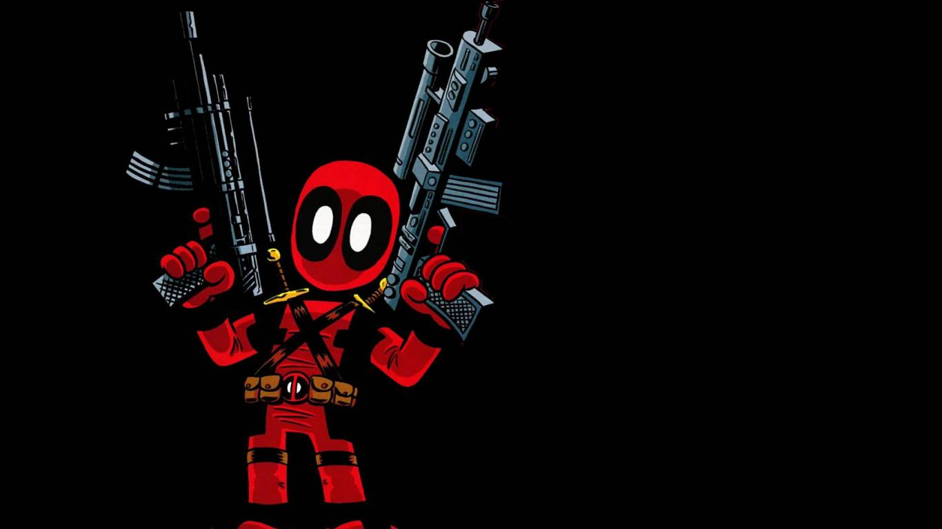 Deadpool Wallpaper   HD Wallpapers Backgrounds of Your Choice 1366x768