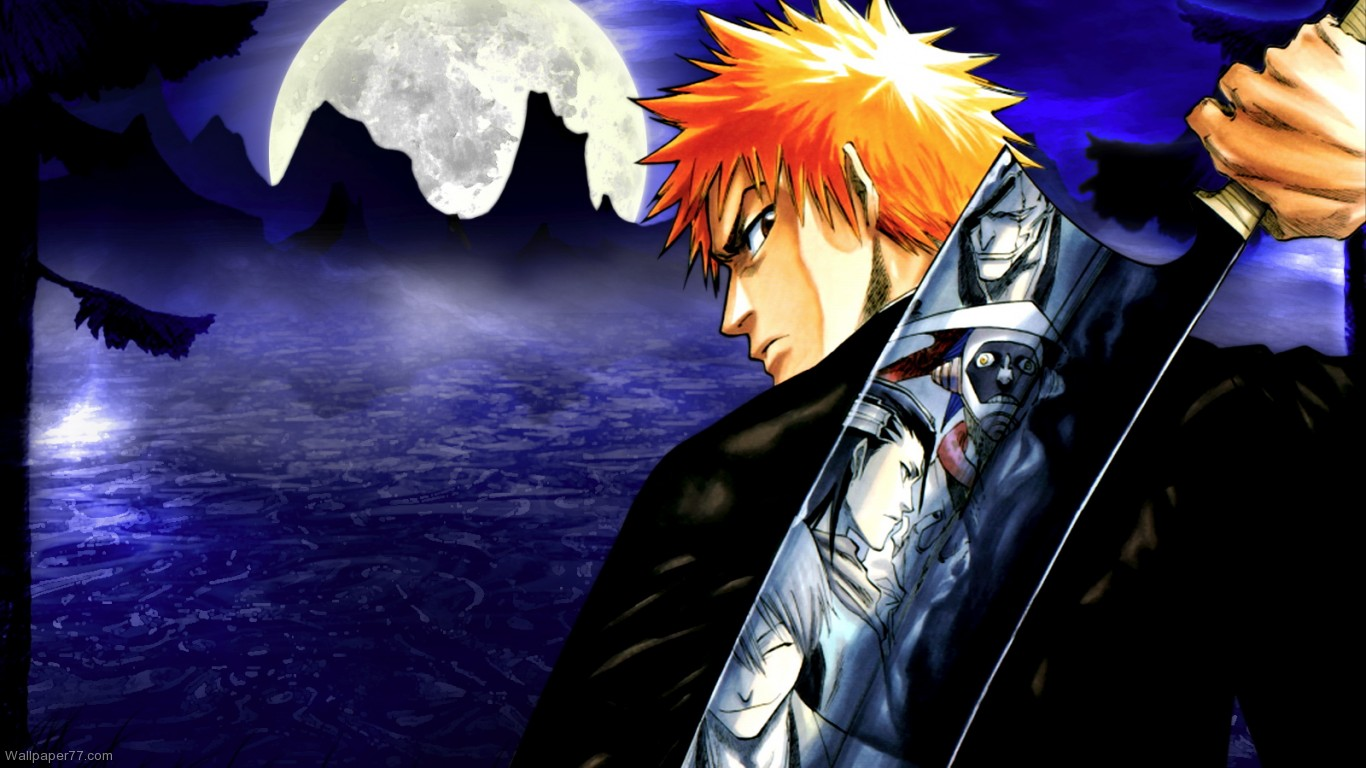 Bleach anime season hd wallpapers wallpapersafari - Wallpaper manga anime ...