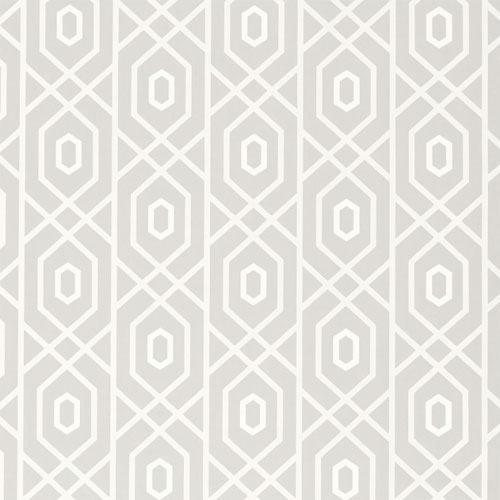 Prescott Wallpaper in Grey   Geometric Wallpaper   Wallpaper   Wall 500x500