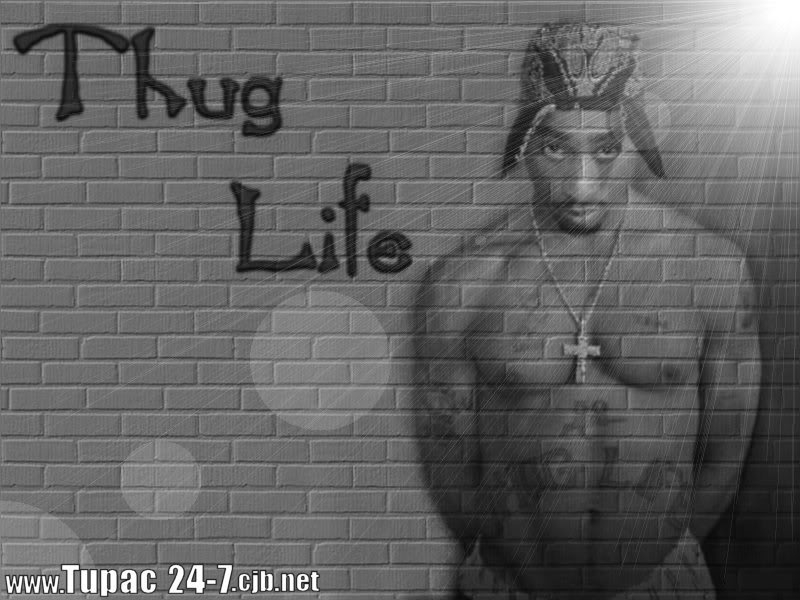 [42+] 2Pac Thug Life Wallpaper On WallpaperSafari