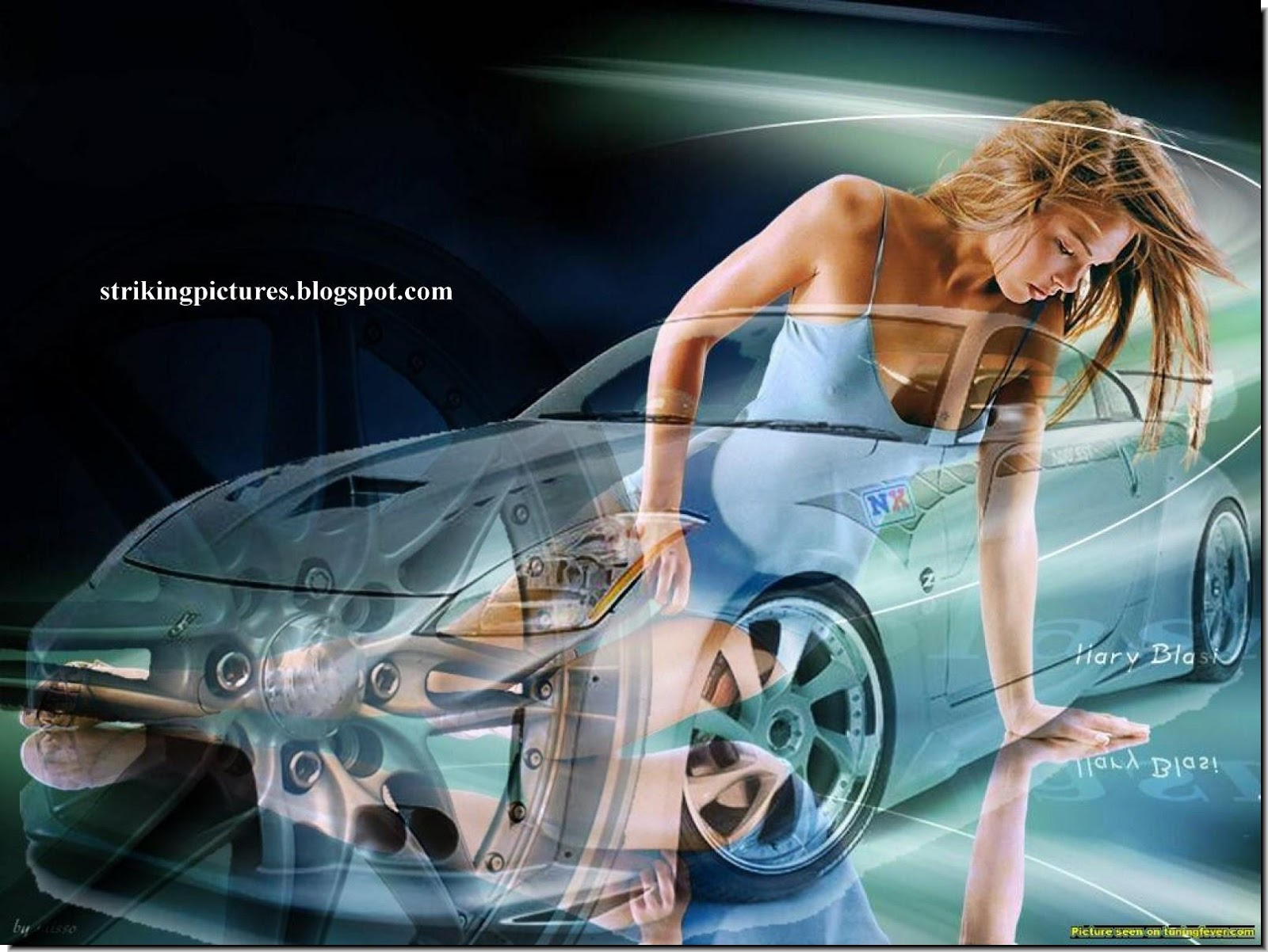 STRIKING PICTURES ALL OF THEM Cars And Girls Wallpapers 1600x1202