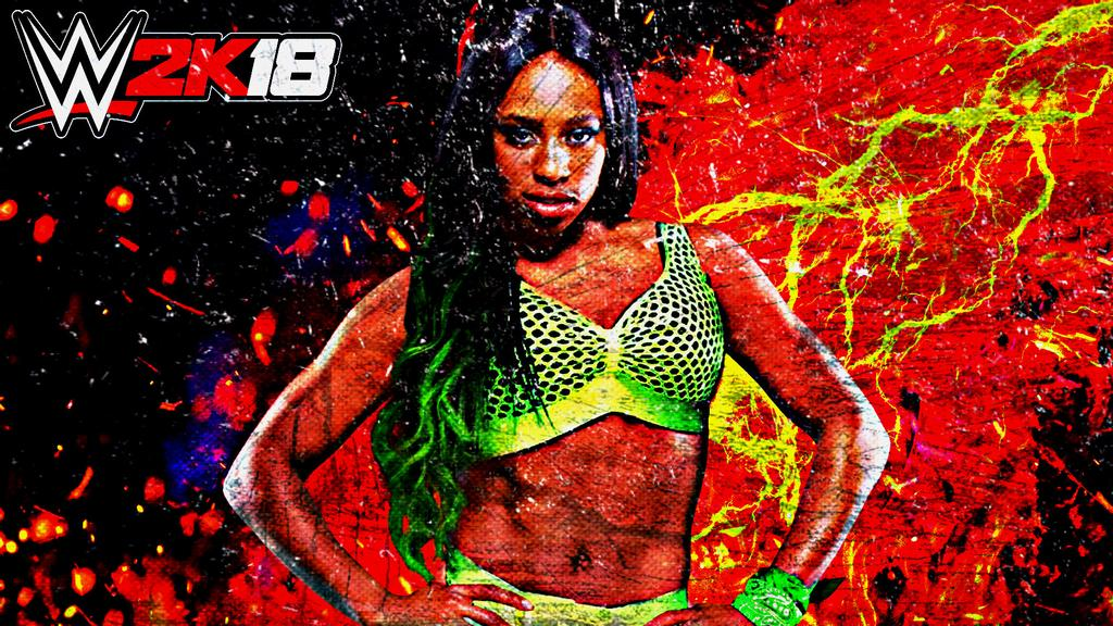 Naomi WWE 2K18 Custom Wallpaper by AmbriegnsAsylum16 1024x576