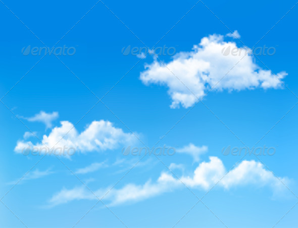 Blue Sky with Clouds Background   Nature Conceptual 590x452