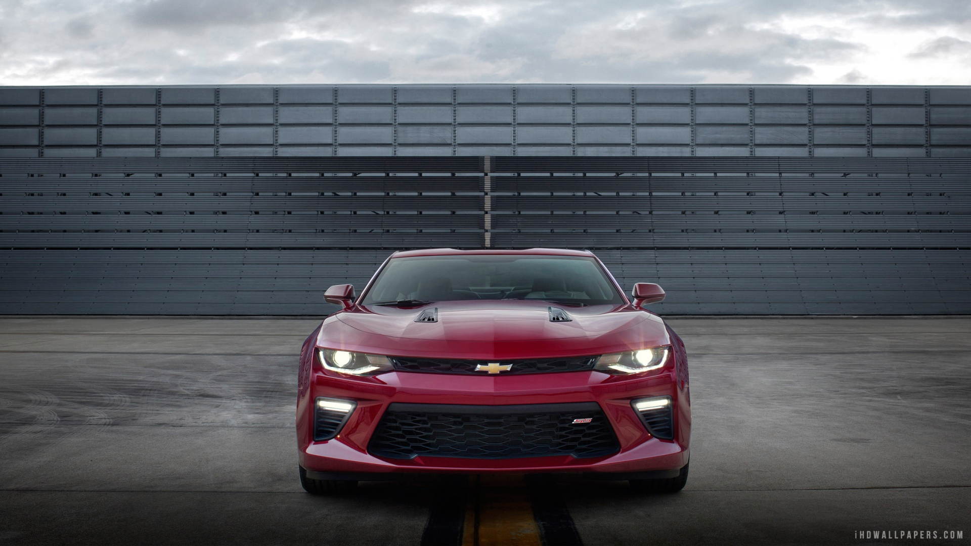 2016 Chevrolet Camaro Front HD Wallpaper   iHD Wallpapers 1920x1080