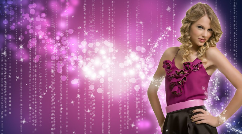 Taylor Swift background by CaptainSwanForever 1024x568