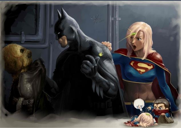 supergirl saves scarecrow   DC Comics Photo 32471194 634x449