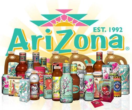 Arizona Tea Drinks 504x418