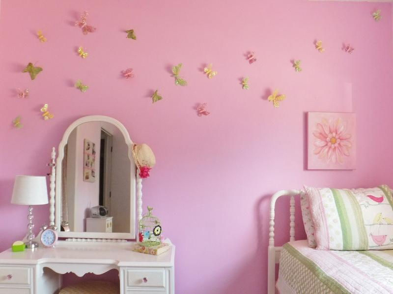 Bedroom Wall Art Butterflies