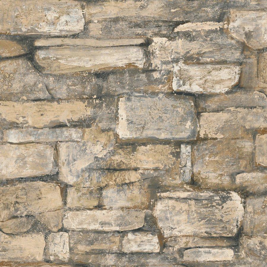 Brick Neutral Peelable Vinyl Prepasted Wallpaper Lowes Canada 900x900