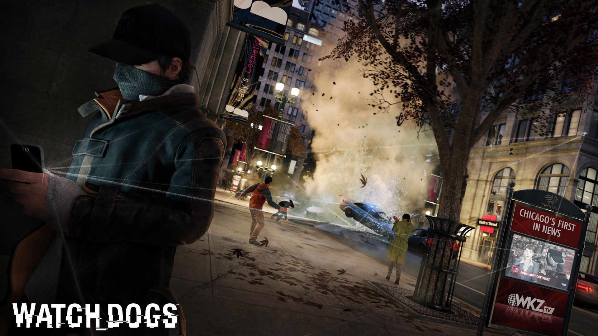 Free Download Watch Dogs Game 21 Hd Wallpaper 1920x1080 For Your