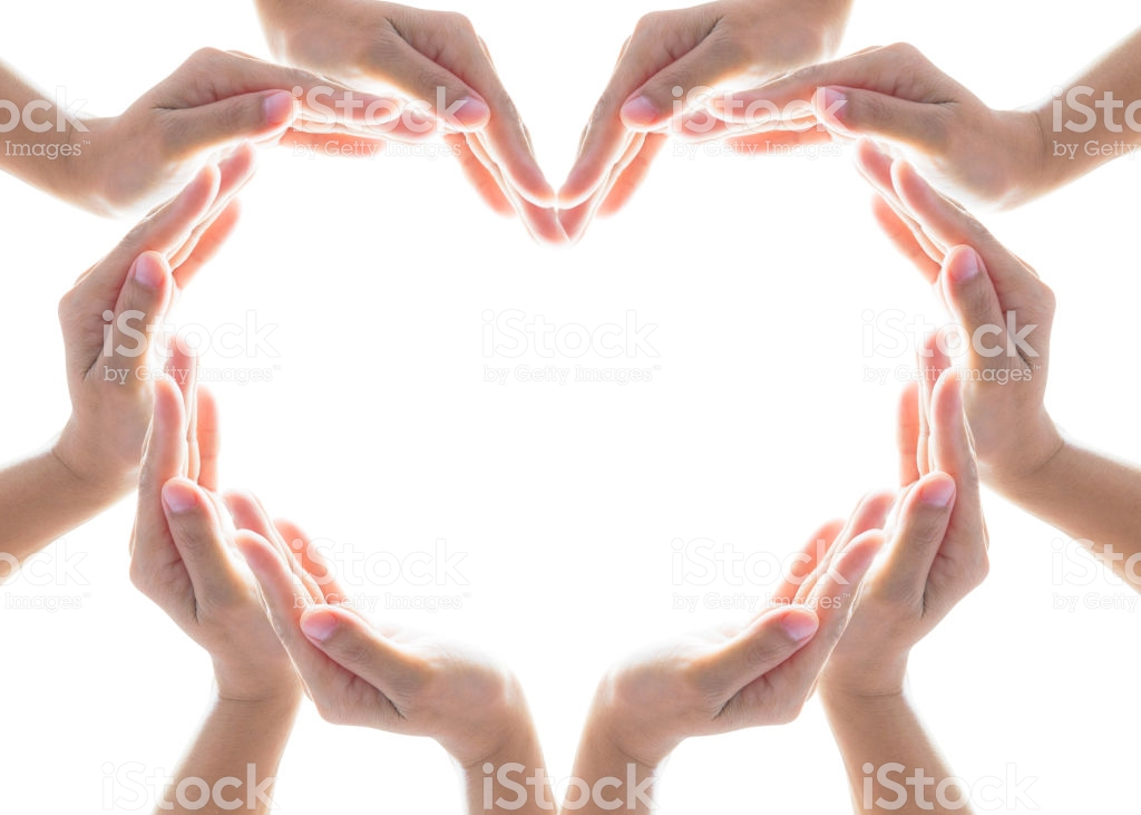 Heart Shape Woman Peoples Hand Collaboration Isolated On White 1024x731