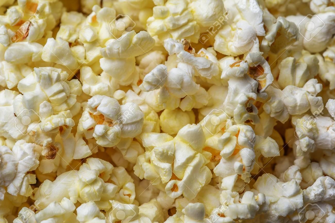 Popcorn Background Close Up Macro Shot Of Popcorn Stock Photo 1300x866