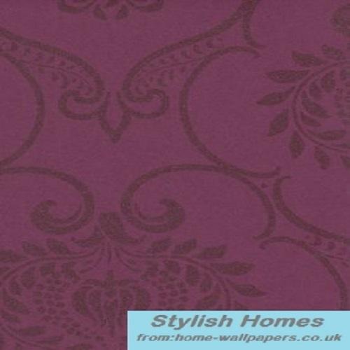 Buy Casadeco Designer Wallpaper online Midnight 2 Purple MID1917 51 19 500x500