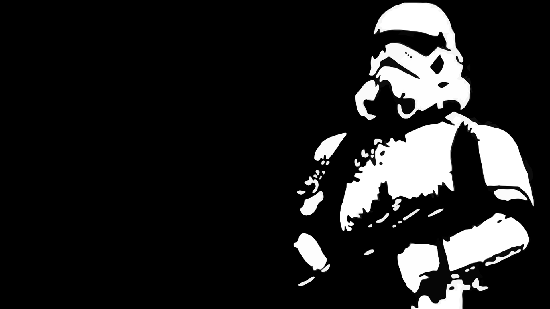 Star Wars Wallpaper 1920x1080 Star Wars Stormtroopers Contrast 1920x1080