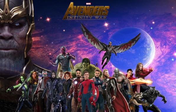 92+] Captain America And Natasha Infinity War Wallpapers on