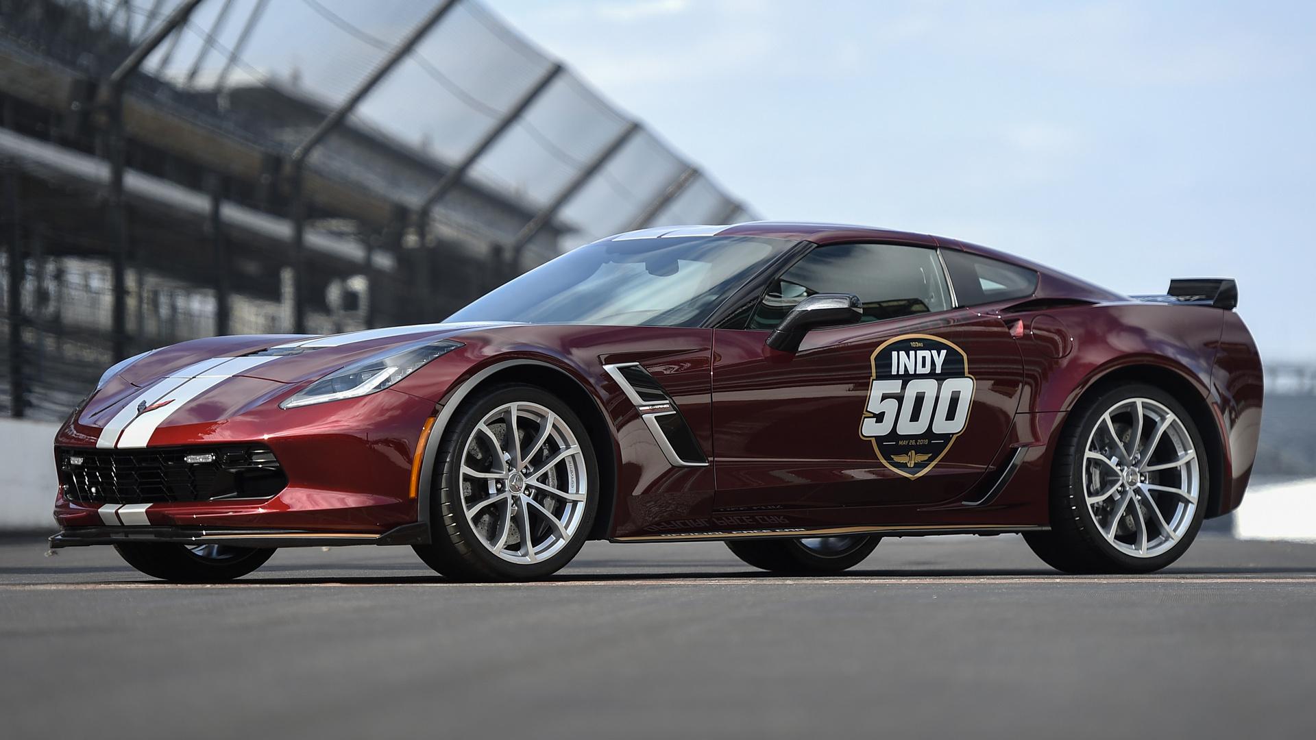 2019 Chevrolet Corvette Grand Sport Indy 500 Pace Car   Wallpapers 1920x1080