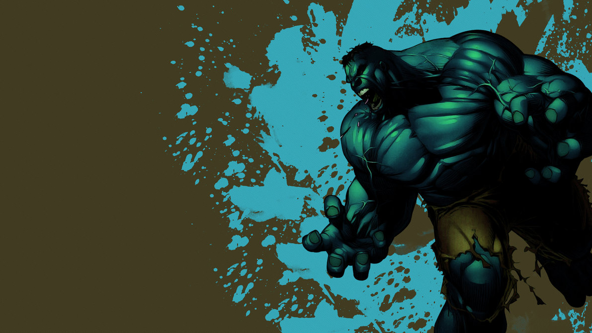 Hulk Wallpaper 1920x1080 Blue and Brown Version by BlackLotusXX on 1191x670