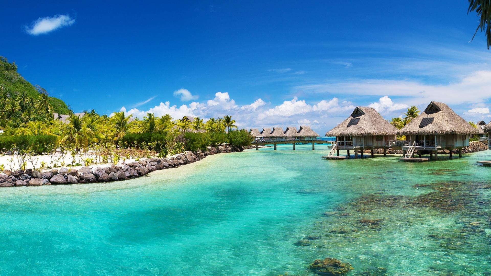 Free Download Sfondo Desktop Spiaggia Tropicale Tropical Beach Hd