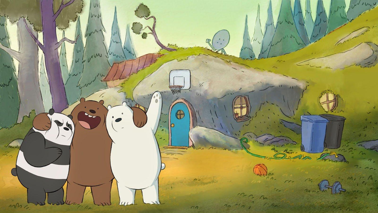 We Bare Bears iPhone Wallpaper - WallpaperSafari