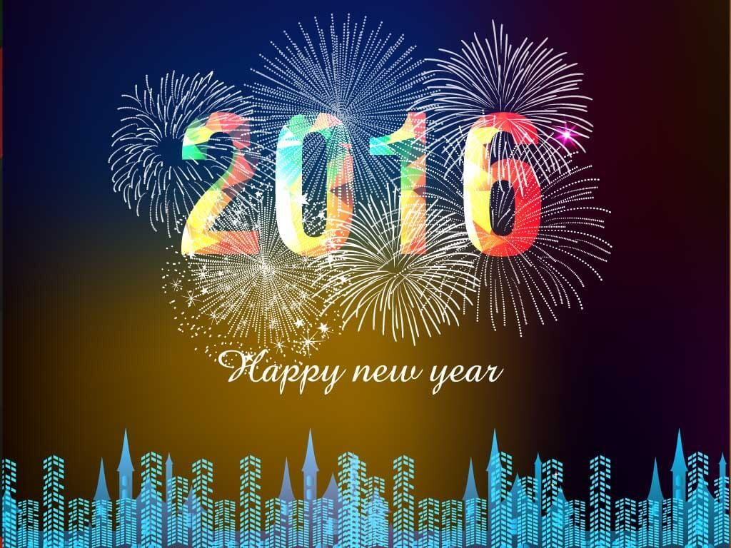 Happy new year wallpaper download 2016 1024x768