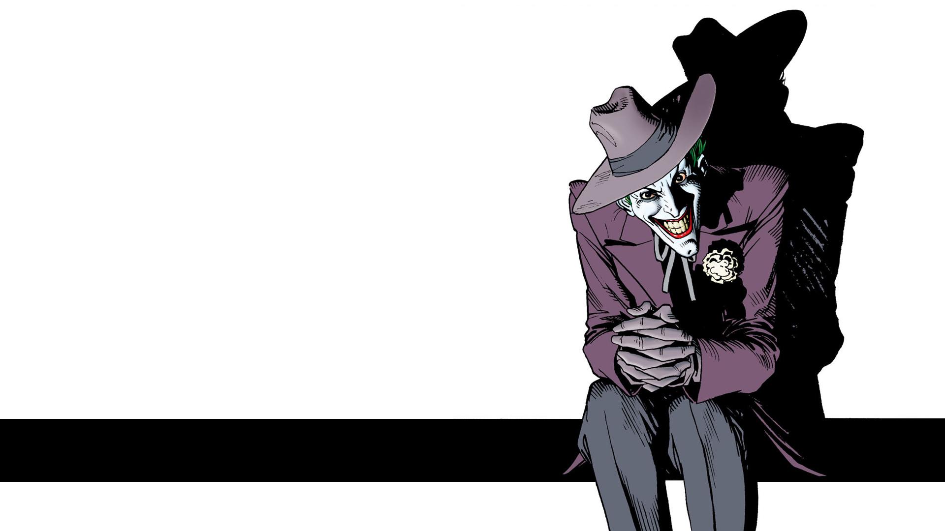 Comics   Batman The Killing Joke Joker Wallpaper 1920x1080