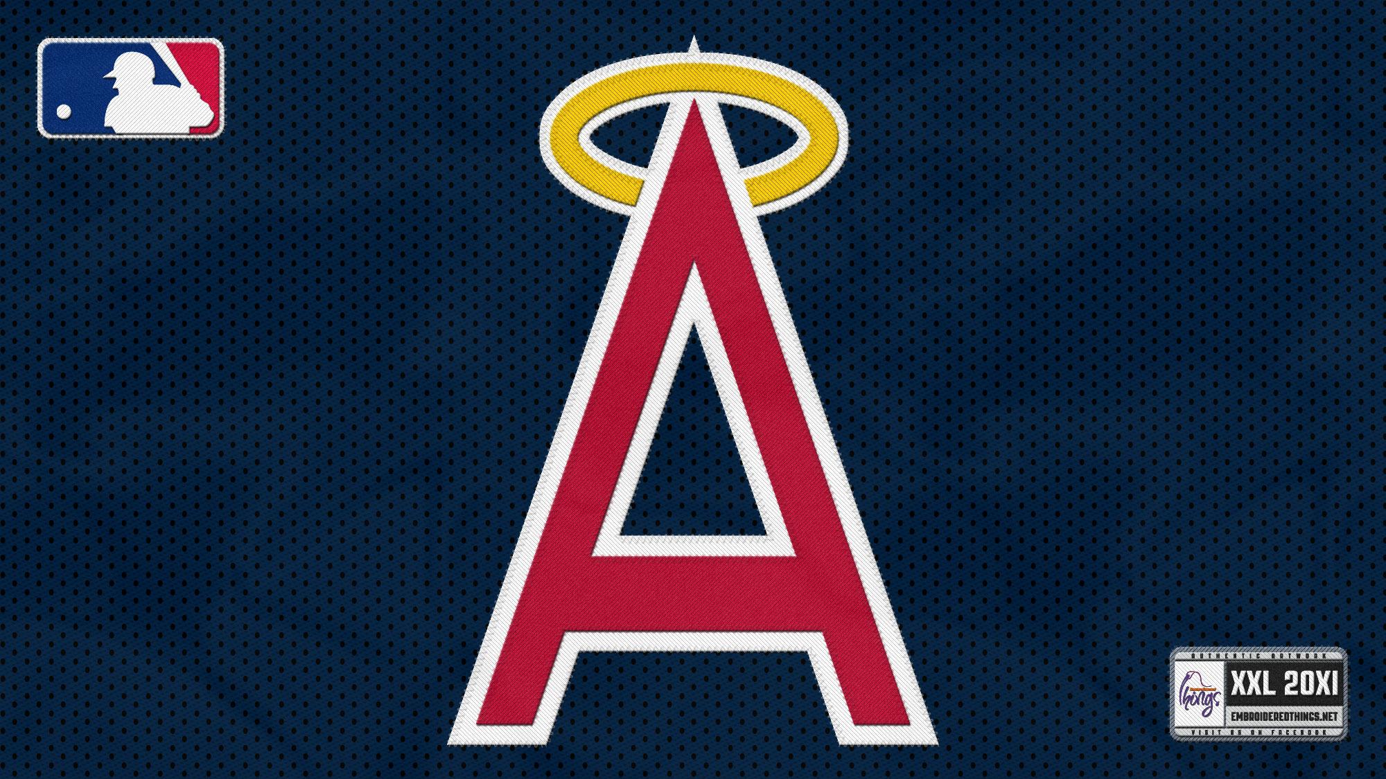 ANAHEIM ANGELS baseball mlb f wallpaper 2000x1125 158468 2000x1125