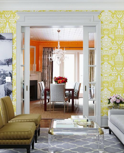 Clarence House The Vase wallpaper Home Decor Pinterest 519x640