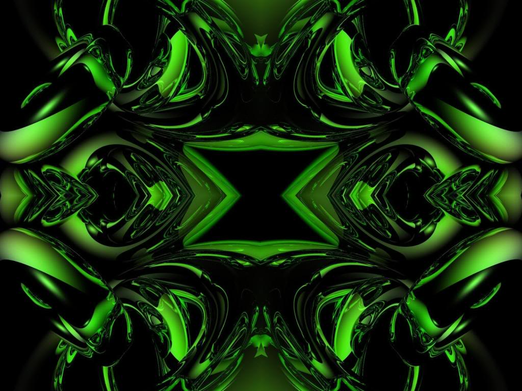 Cool Green Abstract Wallpapers