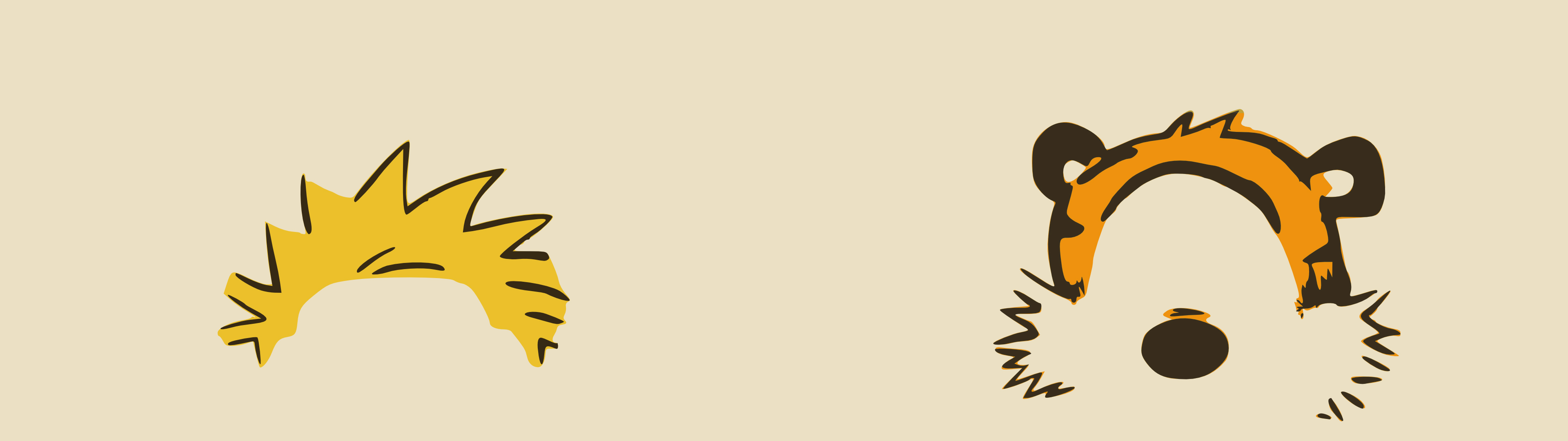 Dual Screen Wallpapers   Calvin and Hobbes   Album on Imgur 3840x1080