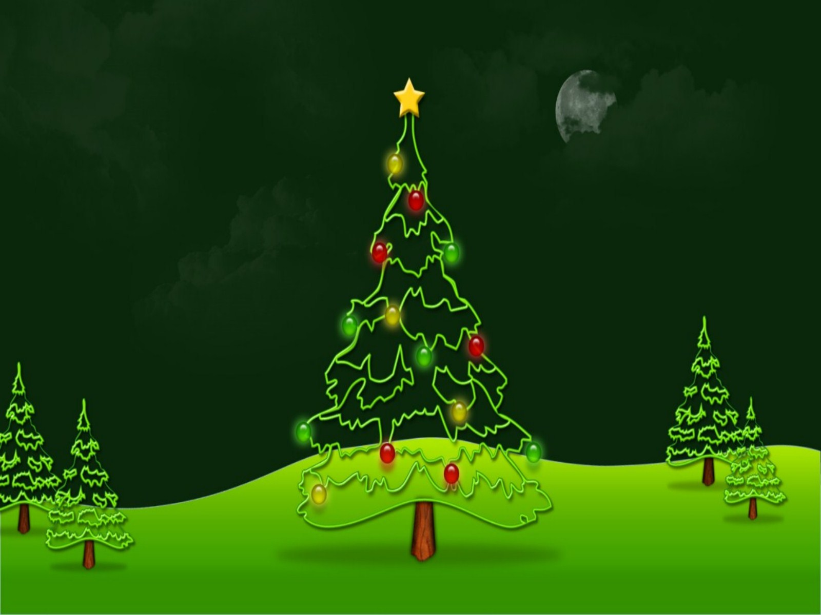 Christmas Tree Wallpaper Free