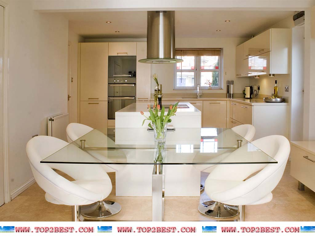 Get Dining Room Modern Design Wallpaper 1024x768 For Your