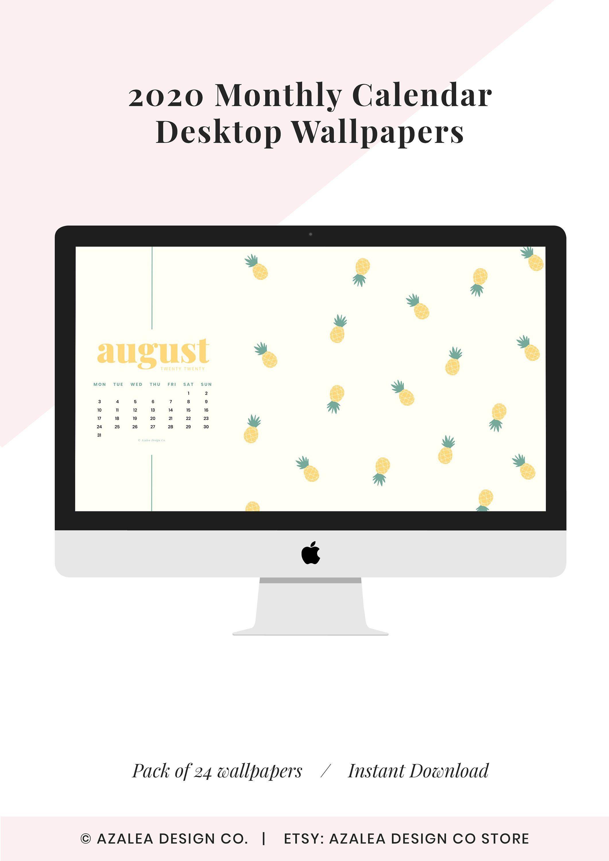 2021 Monthly Desktop Calendars Desktop Wallpaper Instant 2121x3000