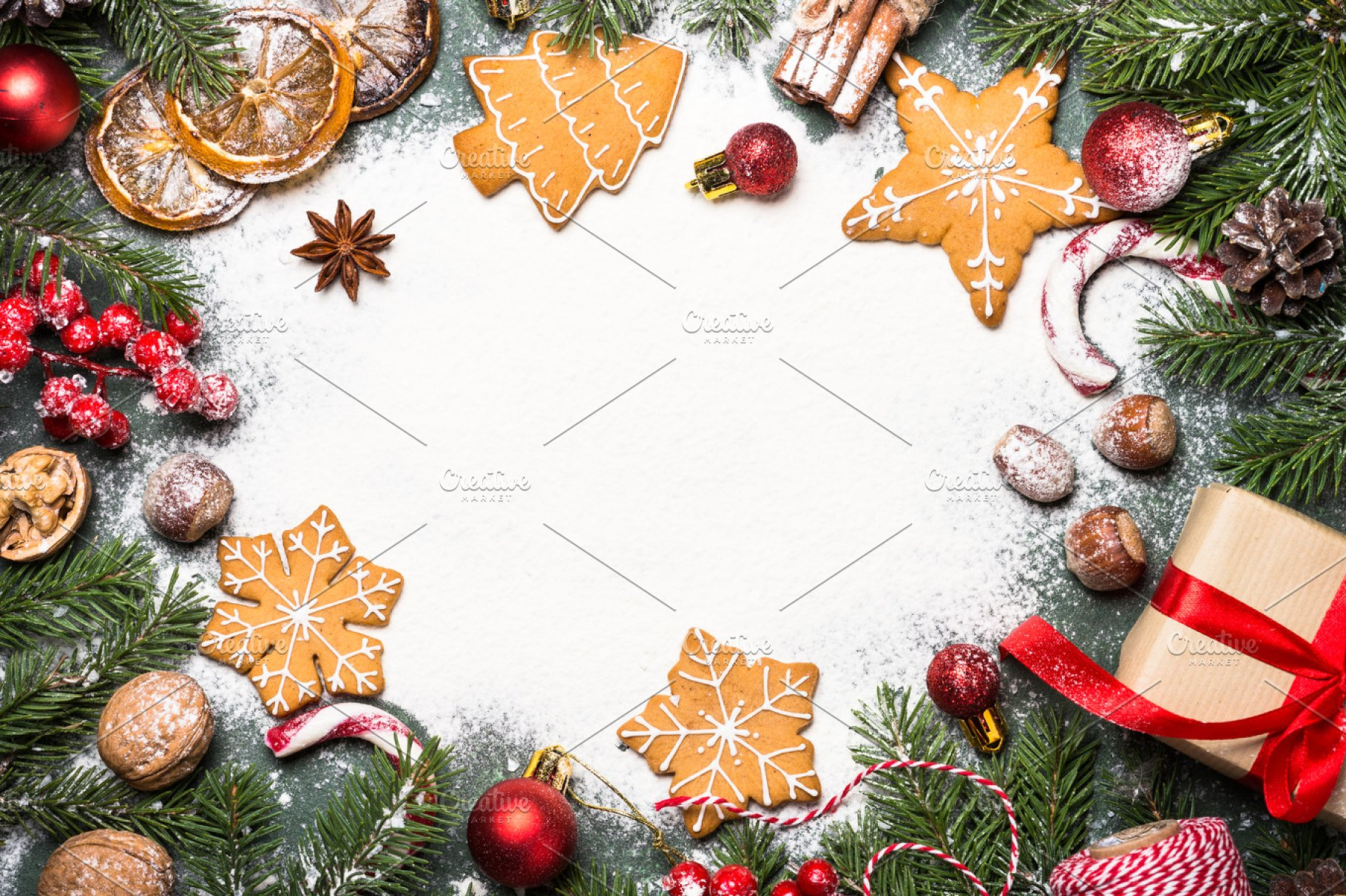 Christmas baking background High Quality Holiday Stock Photos 1820x1212
