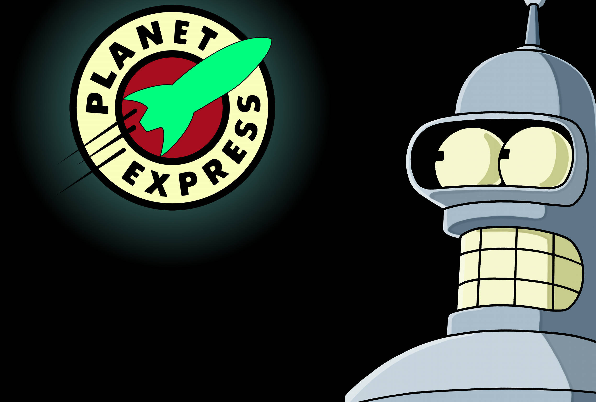 Bender   Futurama HR Wallpaper Just Wallpaperz 2490x1680
