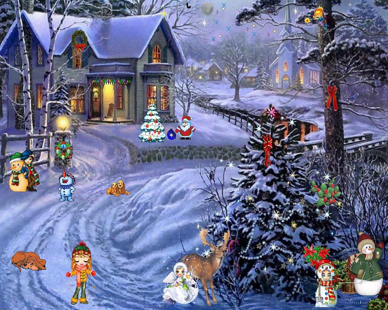 Christmas ScreenSaver 1 1 WALLPAPERS 1280x1024