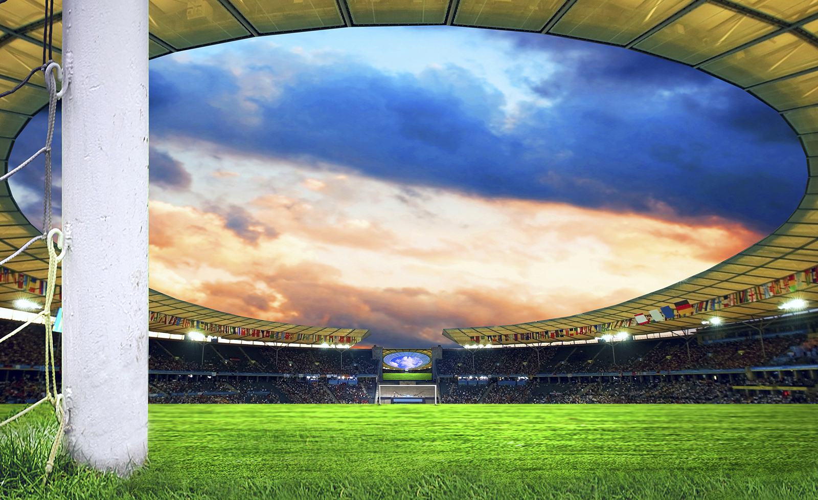 Details about Football Stadium Boys Bedroom PHOTO WALLPAPER PICTURE 1600x977