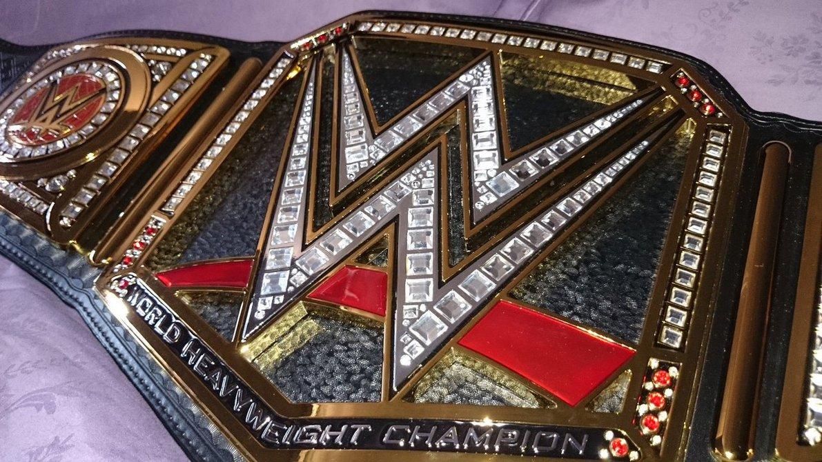 WWE WORLD HEAVYWEIGHT CHAMPIONSHIP TITLE BELT by imranbecks on 1191x670