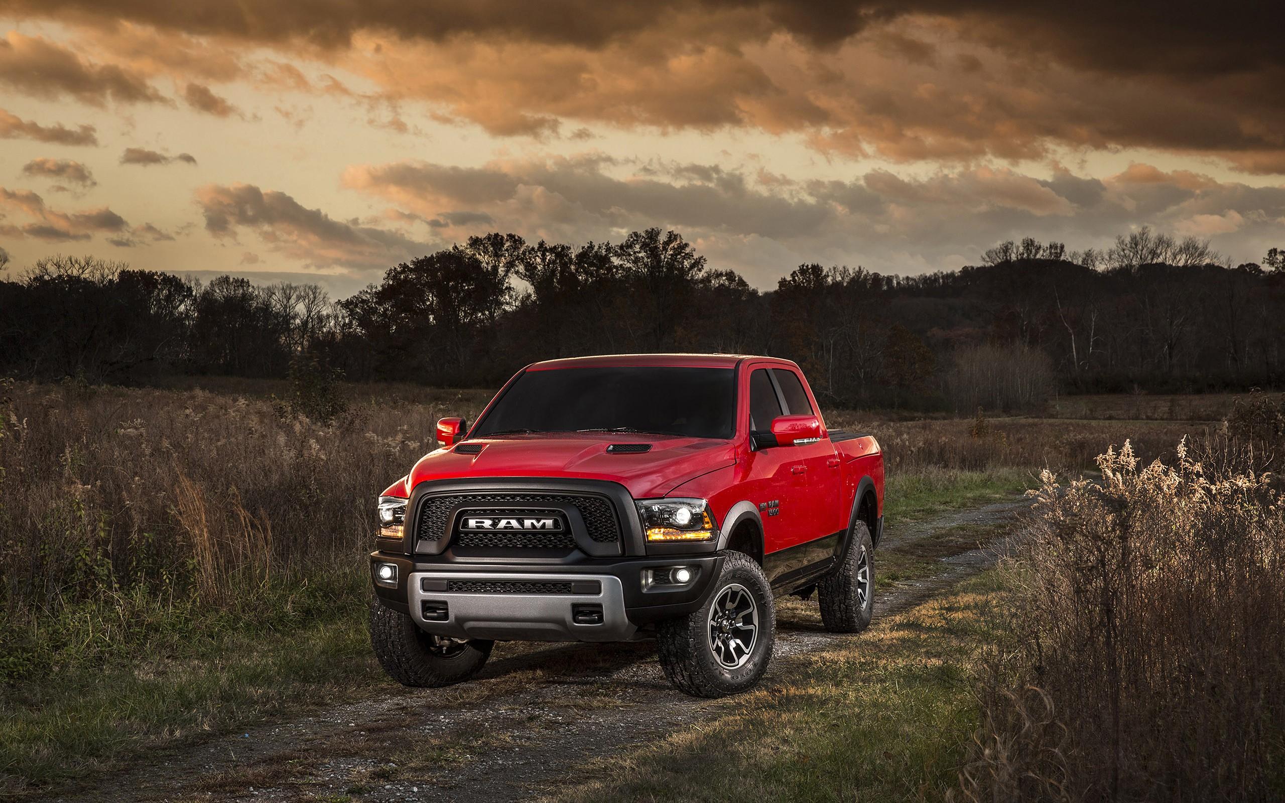 car Dodge RAM Pickup Trucks Forest 4x4 Dirt Road Wallpapers 2560x1600